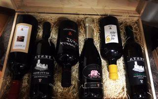 cassetta legno vini doc 6 bott