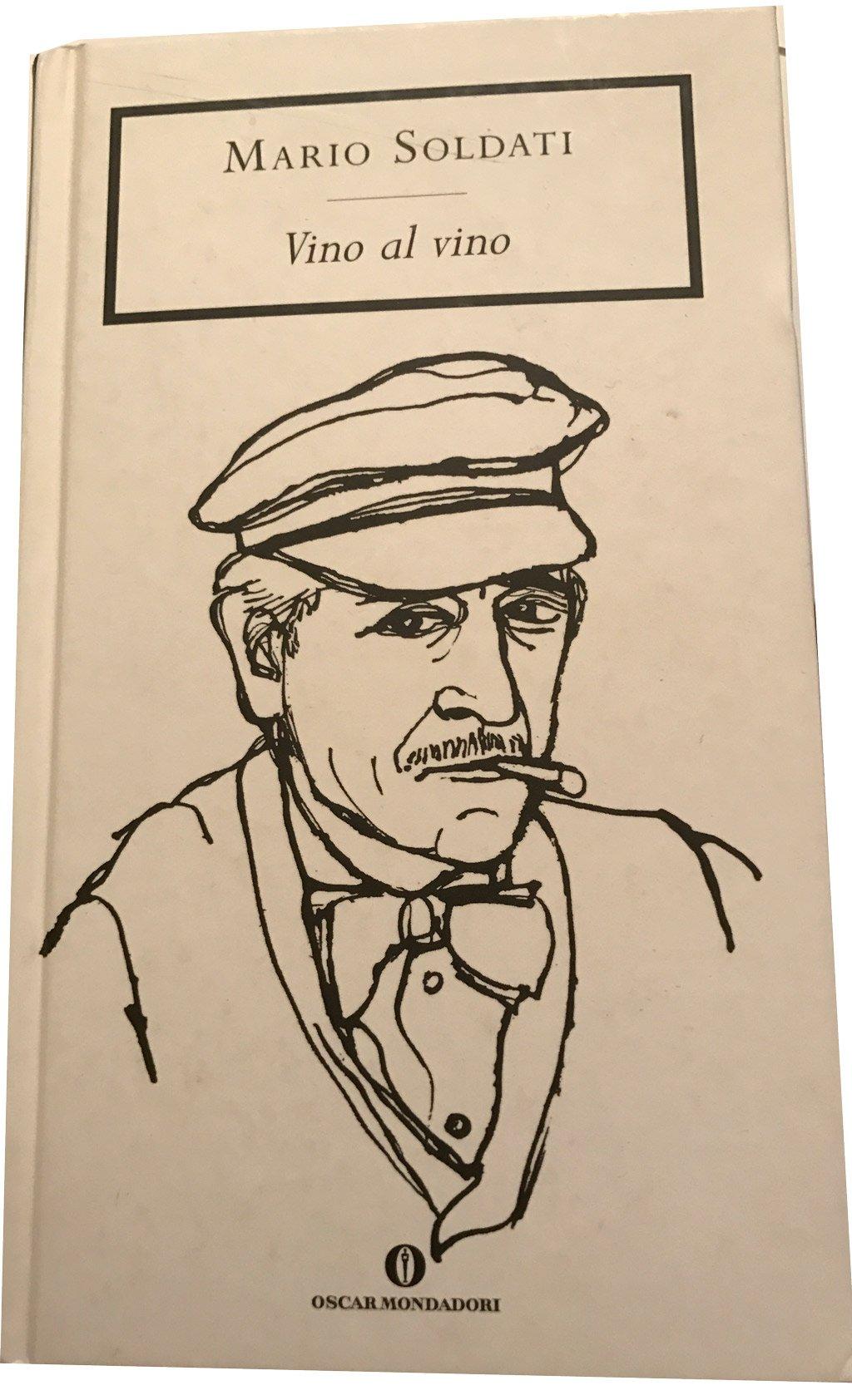 storia vini Testa copertina libro di Mario Soldati vino al vino